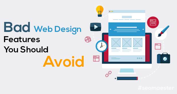 Bad Web Design Features