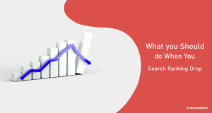 Search Ranking Drop