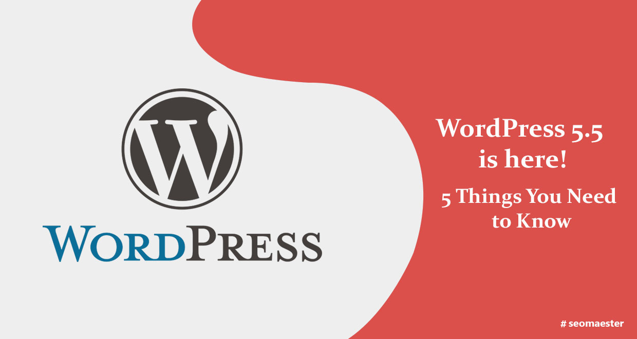 WordPress 5.5 is here! 5 Things You Need to Know